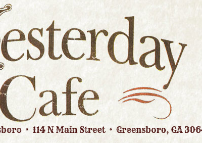 The Yesterday Cafe